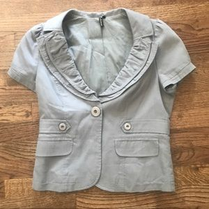 Short Sleeve Ambition Blazer from Nordstrom Size M